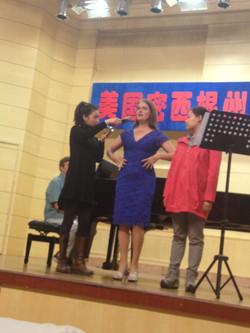 Master Class in Tianjin, China