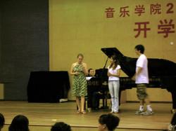 Master Class, Chongqing, China