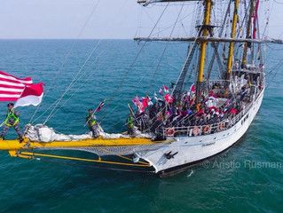 KRI Dewaruci Sailing Experience 2018: Hidup Bak Kadet TNI AL
