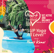 Heart Festival_SUP Yoga, Stand UP Paddle