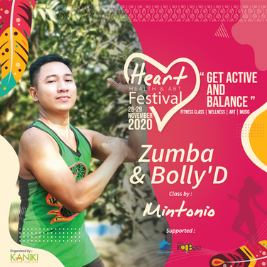 Heart Festifal, Zumba dan bolly Dance.pn