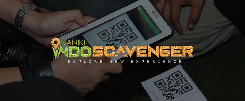 Outbound Experiential Learning Kekinian menggunakan aplikasi indoscavenger di gadget