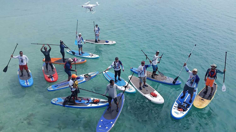 Trip-team-building-kaniki stand up paddl