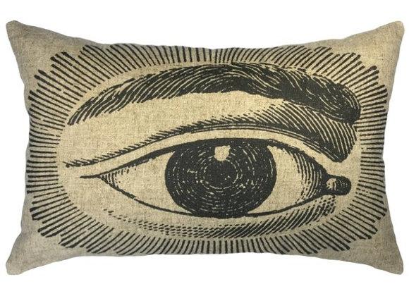 Horus Handcrafted Linen Pillow