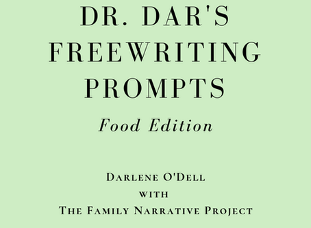 Saving Family Memories by Writing about Food