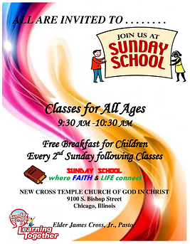 Join Us at Sunday School!