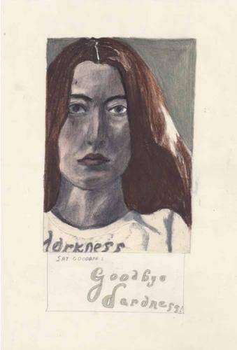 Marie Jacotey, Goodbye Darkness Portrait, 2018
