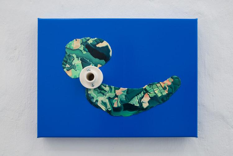 Install Image Ana Cvorovic 'Archipelago' Photo by Isabelle Arthuis