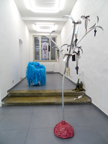 PROUDICK (Lindsey Mendick & Paloma Proudfoot) presented by Hannah Barry Gallery at Ballon Rouge, Brussels 2019