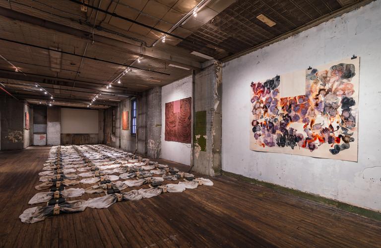 Carmen Argote, Warm is a Black, curated by Kathy Battista, New York 2018