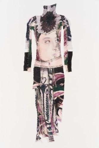 Marie Jacotey, sporty dress, 2020