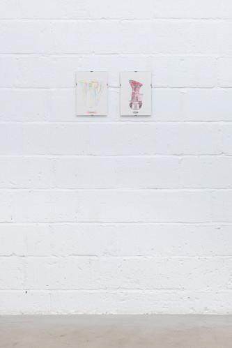 'I remember;' with Merve Iseri, Jean Feline, Lara Ogel. Presented by Ballon Rouge at Hannah Barry, London 2019