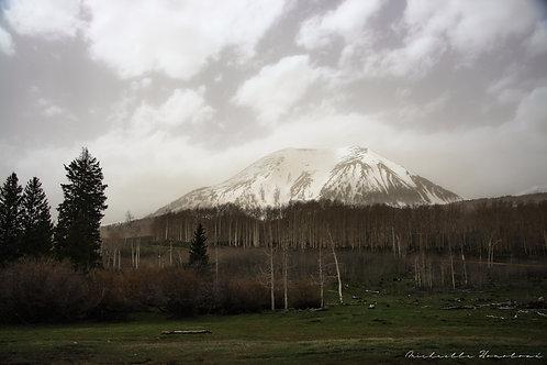 Mysterious mountain