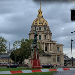 La statue du général Joseph Gallieni de nouveau vandalisée dans le 7ème arrondissement de Paris