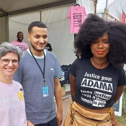 Assa Traoré lutte à présent contre les privilèges à la Fashion Week