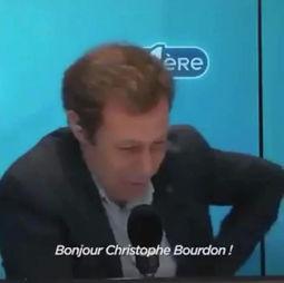 Christophe Bourdon réagit avec humour à la Cancel Culture sur la RTBF