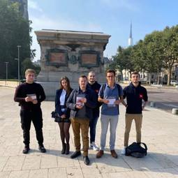L'UNI Rouen défend la statue de Napoléon face aux attaques du Maire