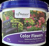 COLOR FLOWERS Oadubo ecológico granulado orgânico para plantas com flor da Upnature é de longa duração. Fortalece a floração e proporciona uma acção de longa duração para cores intensas. Óptimo para roseiras, gerânias, petúnias, begónias ou gazânias.