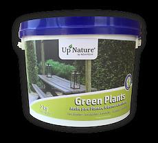 GREEN PLANTS O adubo ecológico granulado orgânico para plantas, arbustos e coníferas da Upnature é de longa duração. Proporciona um desenvolvimento rápido das plantas acidófilas, hortênsias, gardénias, camélias, azáleas ou estrelicias.