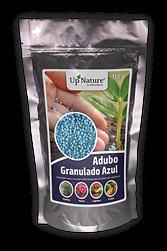 ADUBO GRANULADO AZUL Alimento para plantas, flores, hortaliças e fruteiras.Libertação gradual de nutrientes com efeito prolongado