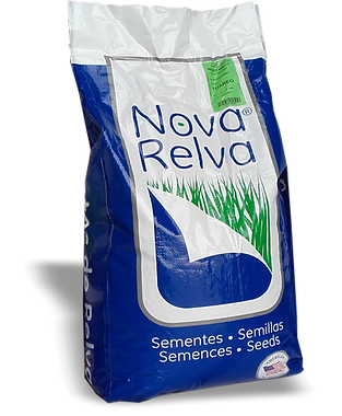 saco de sementes nova relva