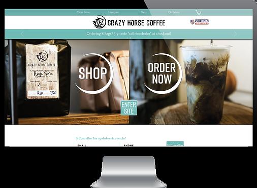 Crazy Horse Coffee Website
