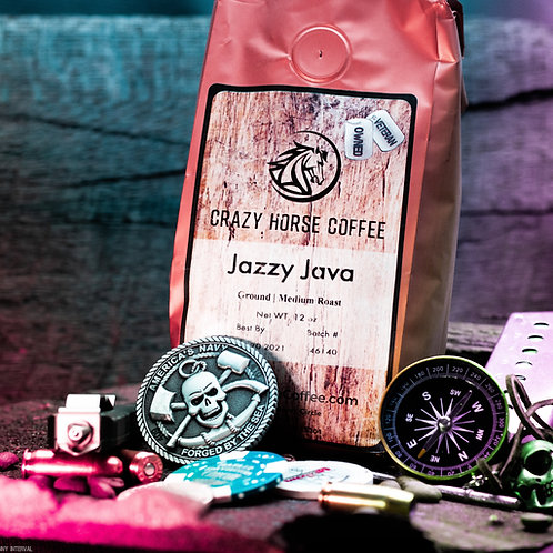 Jazzy Java 12 oz. Coffee Bag