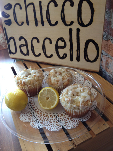 muffins with lemons