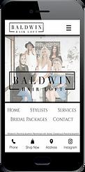 Baldwin Hair Loft Website