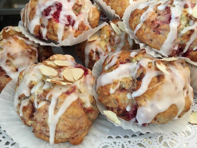 cranberry almond scone