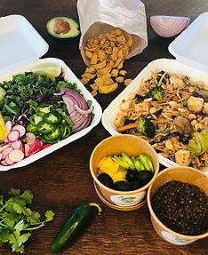 Plant based, vegan catering