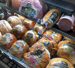 Deli meat case withBoar's Head Meats