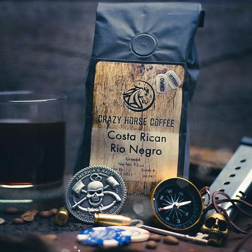 Light Roast (Costa Rican/Rio Negro)12 oz. Coffee Bag