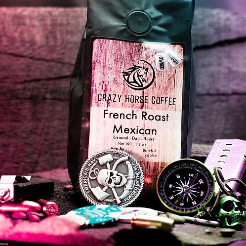 Dark (Mexican French Roast) 12 oz. Coffee Bag