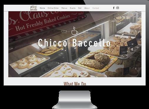 Chicco Baccello Website