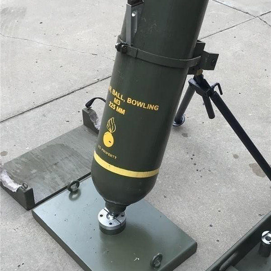 Bowling Ball Mortar