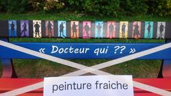 Peinture Fraîche au parc Sébire