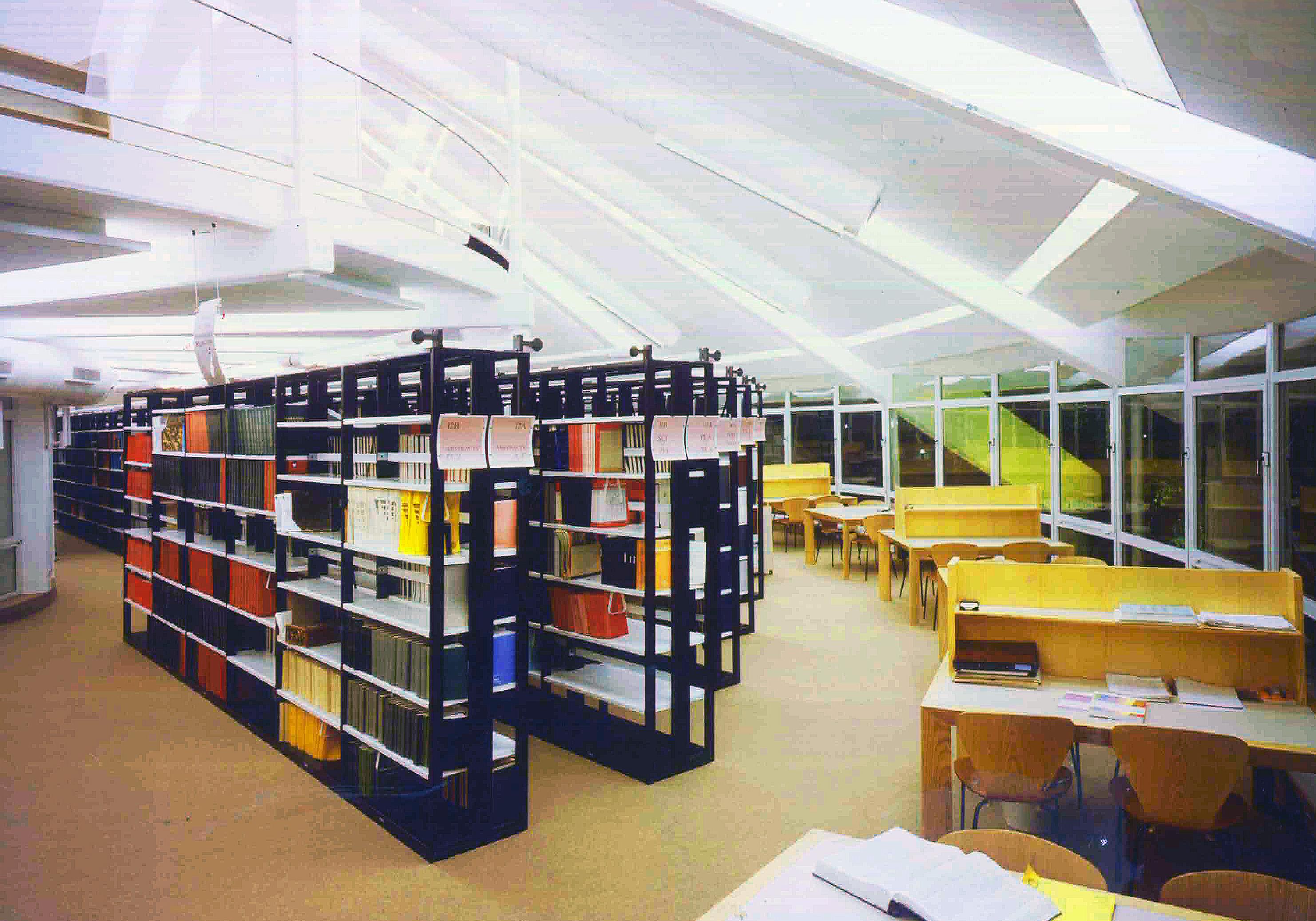 library inner shelfs