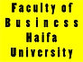 Faculty of Business at Haifa University