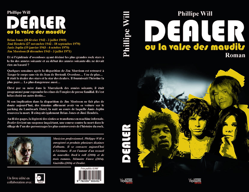 philippe will mémoire fauve dealer rock n roll
