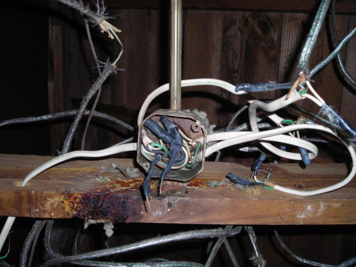 bad electrical wiring