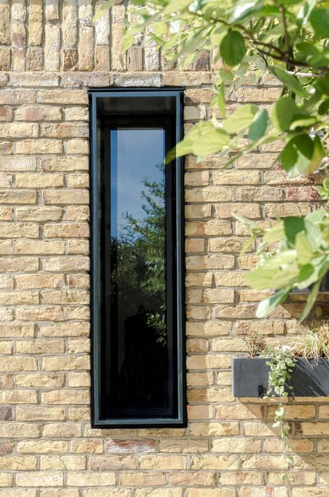 Brick Slot Window
