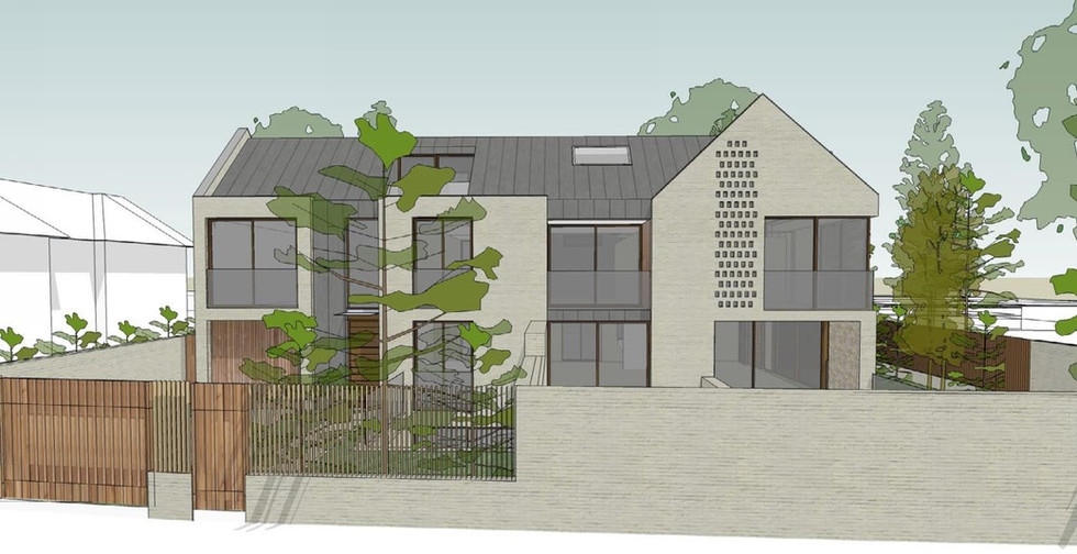 Zinc Houses, Weybridge