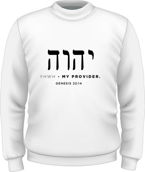 Men's Sweatshirt - YHWH-HEBREW