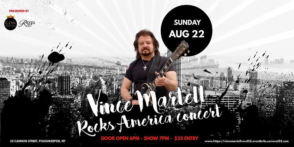 Vince Martell of Vanilla Fudge Rocks America Concert