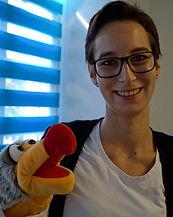 Lisa Stahn, Logopädin und Praxisinhaberin