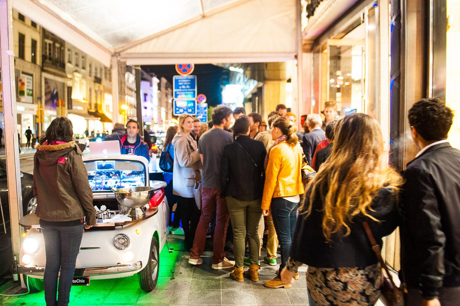 Eventochic DJ/Bar chez Superdry Bxl