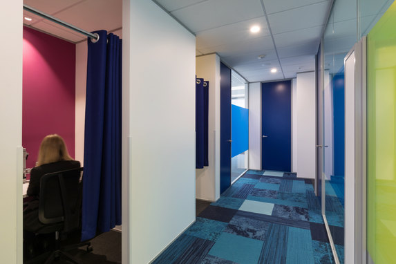 SPM Assets office fit-out & interior design.