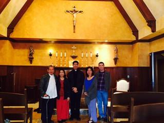 """Fr. Manuel Belarmino: A """"Providential"""" Visit"""