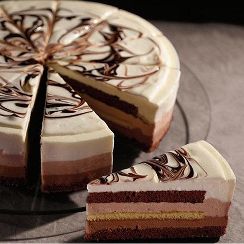 Торт Шоколадная трилогия Bindi 1,2 кг, Италия